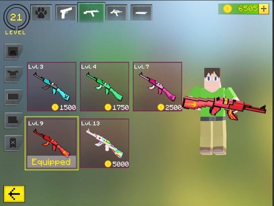 Ipad Screen Shot World Craft Battle Royale 4