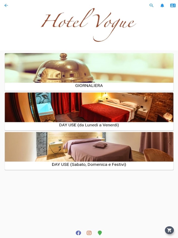 Hotel Vogue screenshot 5