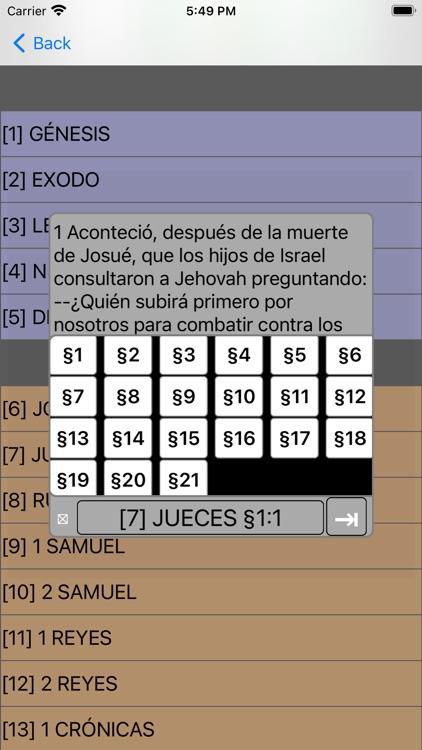 Español Santa Biblia (Modern) screenshot-7
