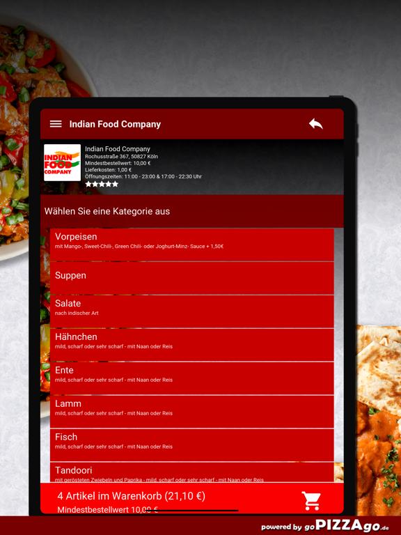 Indian Food Company Köln screenshot 8