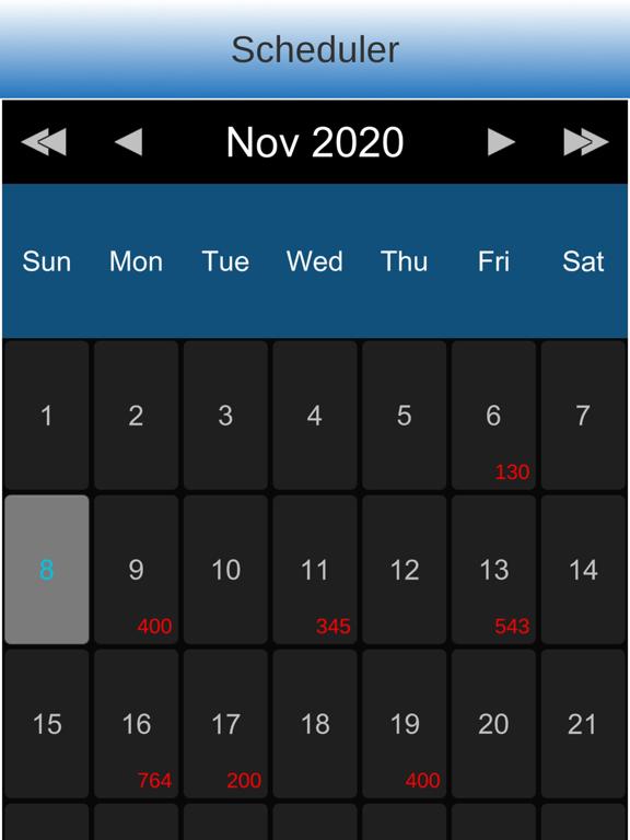 Massage Scheduling Software Screenshots