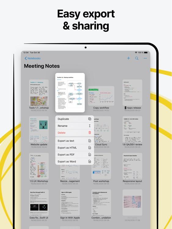 Nebo: Note-Taking & Annotation screenshot-8