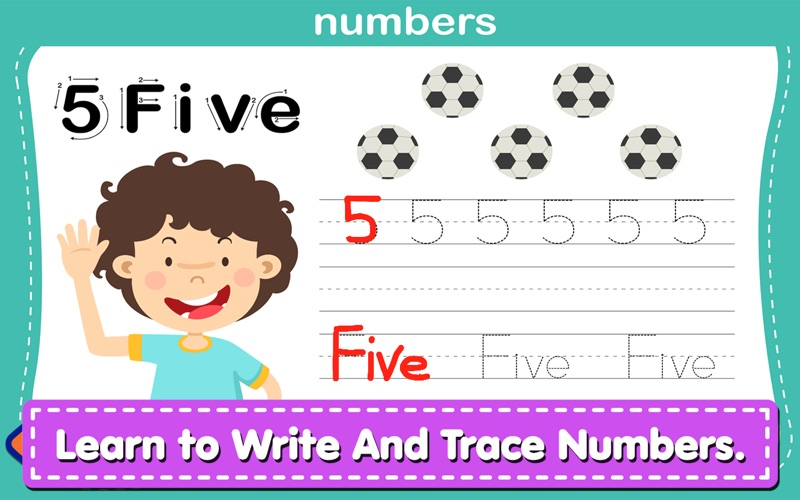 Alphabet Writing For Kids screenshot 2