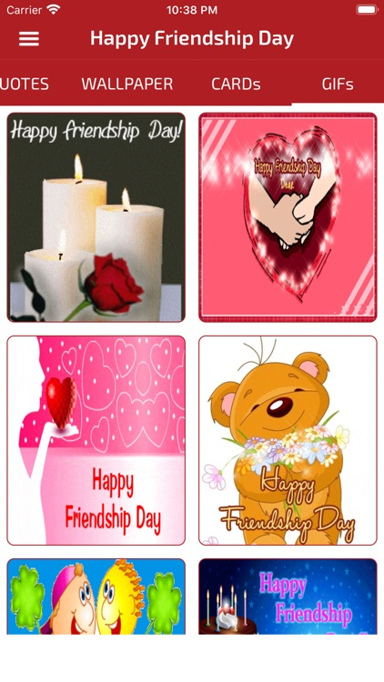 Friendship Day Cards Wallpaper screenshot-3
