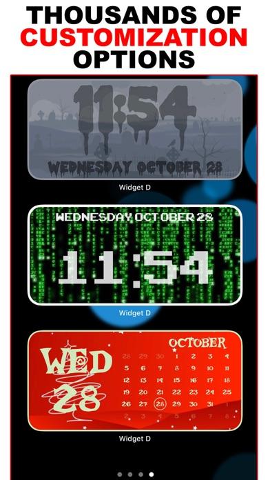 Widget D : Date Time Widgets screenshot 3