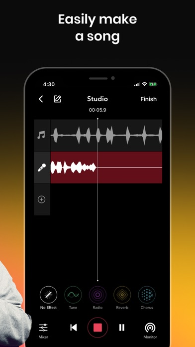 Rapchat: Song Maker Studio Screenshot