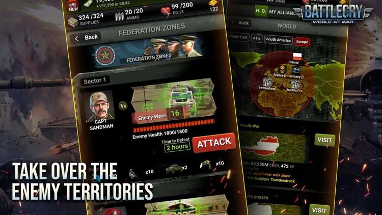 BattleCry: World War Game screenshot-3
