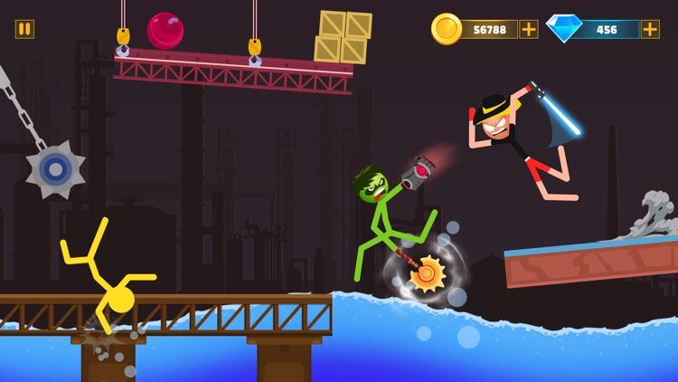 Stickman Duelist Warrior Game screenshot-5