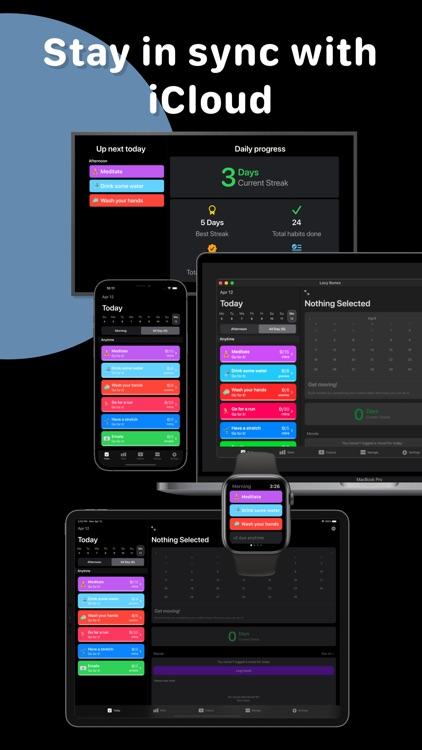 Lazy Bones - Habit Tracker screenshot-7