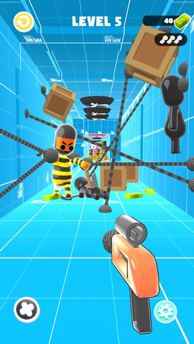Rope Gun 3D screenshot 2