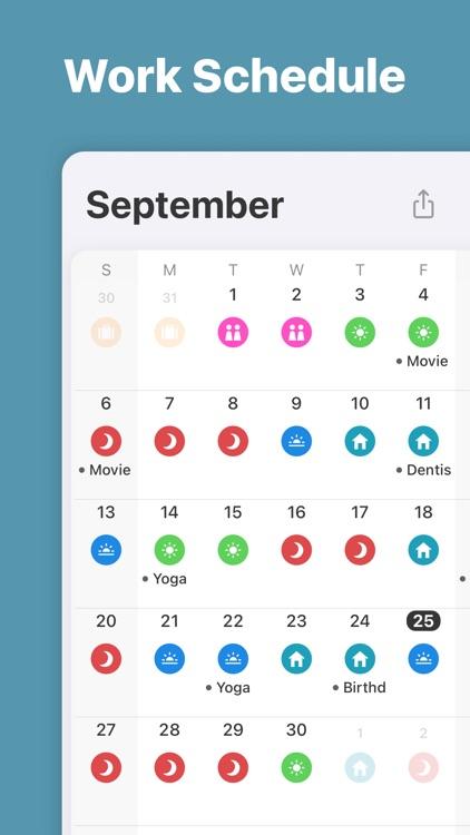 Supershift - Shift Calendar