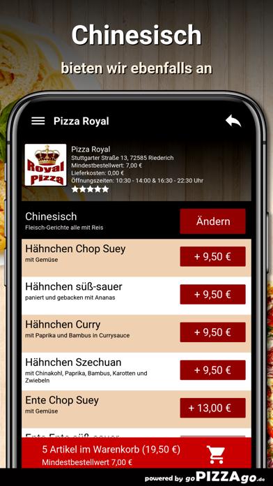 Pizza Royal Riederich screenshot 6