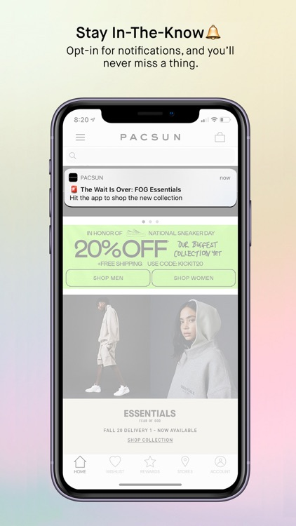PacSun screenshot-4