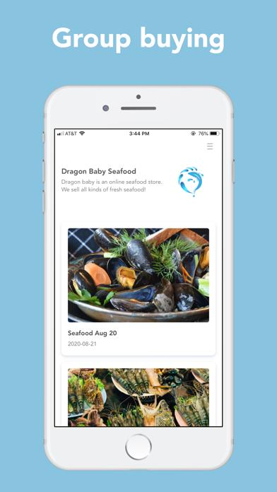 Dragon Baby SeafoodScreenshot of 1
