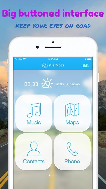 iCarMode: Drive Safely screenshot-0