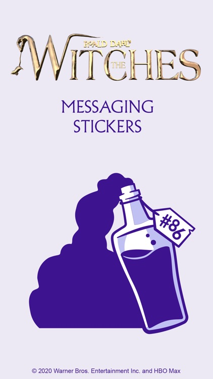 The Witches Movie Sticker Pack