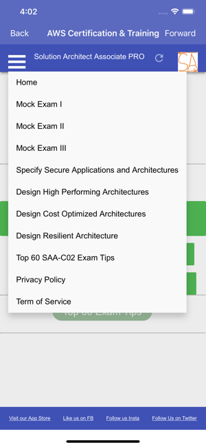 ‎Solution Architect Assoc. PRO Screenshot