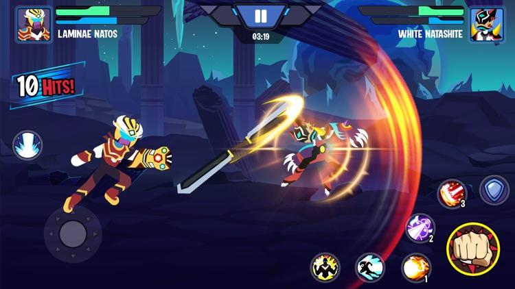 Stickman Heroes Fight screenshot-4
