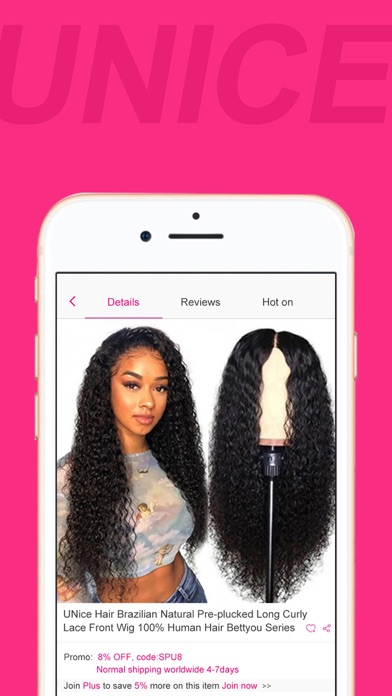 UNice-Human hair wigs wiki review and how to guide