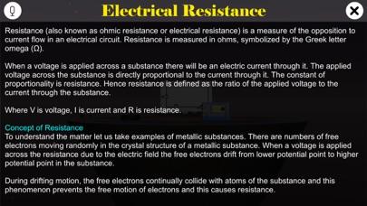 Electrical Resistance screenshot 1