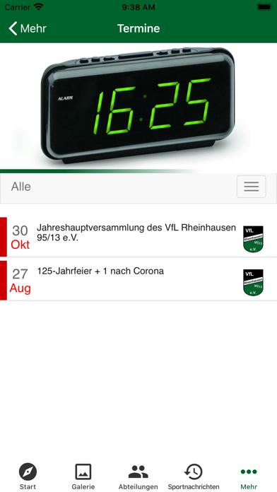 VfL Rheinhausen 95/13 e.V.Screenshot von 5