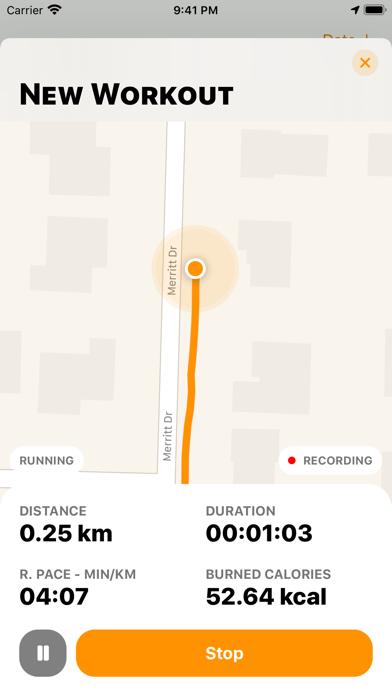 FatBurn: Run Fitness Tracker screenshot 2