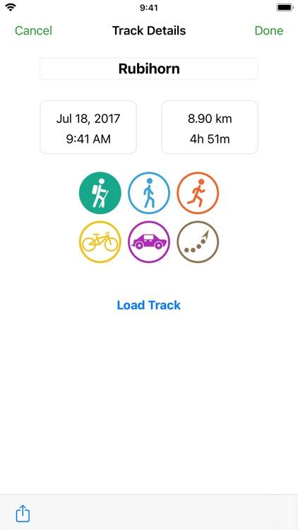 GPS Track - Hike & Bike