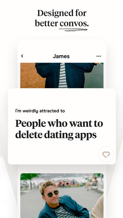 Hinge: Dating & Relationships Screenshot
