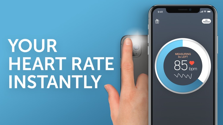 Instant Heart Rate+ HR Monitor