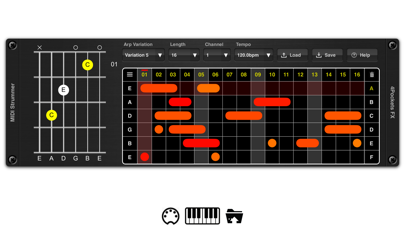 MIDI Strummer AUv3 Plugin screenshot 1