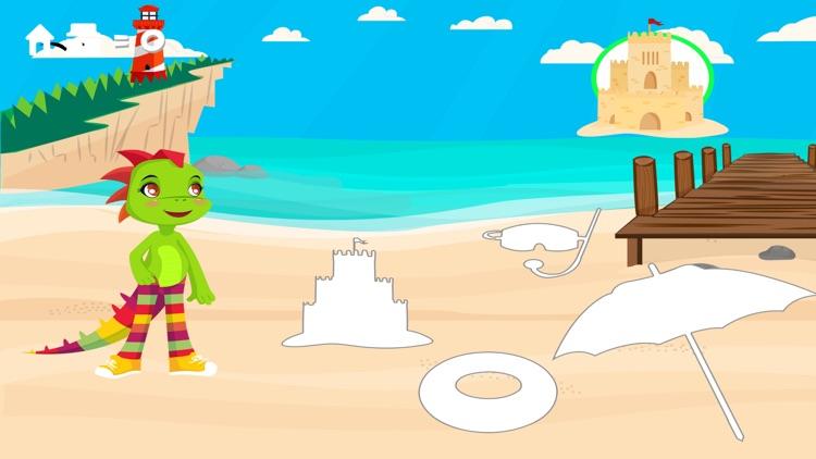 Play & Learn Spanish - Beach