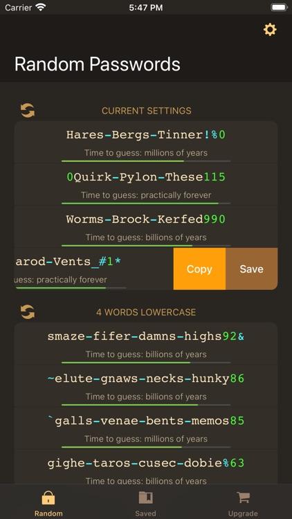 RPG: Random Password Generator screenshot-4