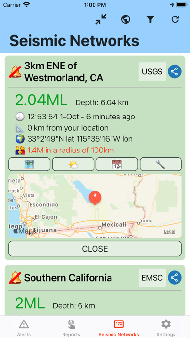 点击获取Earthquake Network
