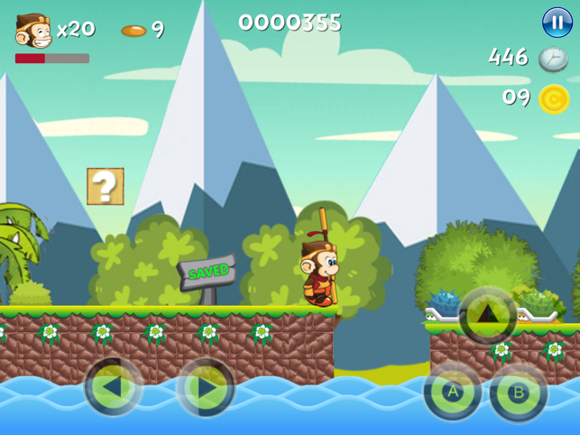 Bing: The Monkey, game for IOS