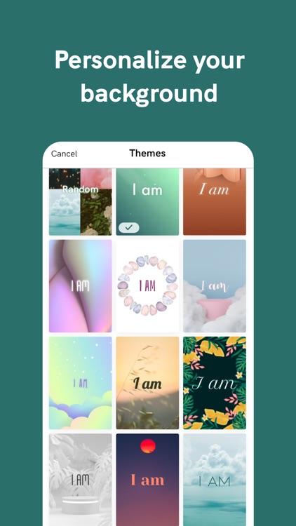 I am - Positive Affirmations screenshot-7