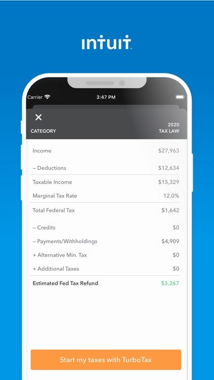 TaxCaster: Tax Calculator screenshot-3