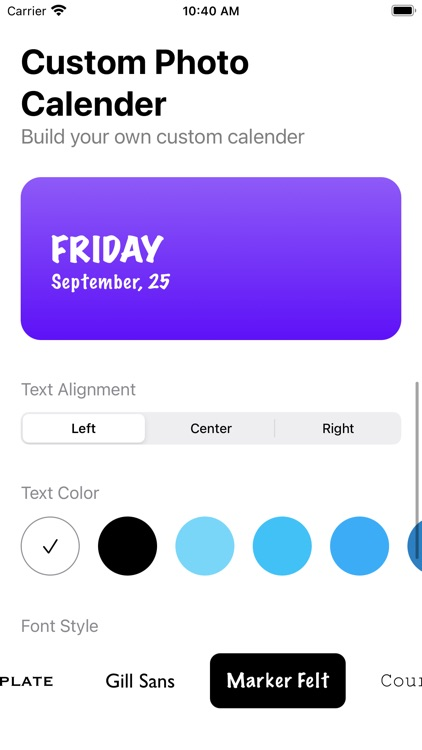 Color Photo Calendar Widget screenshot-5