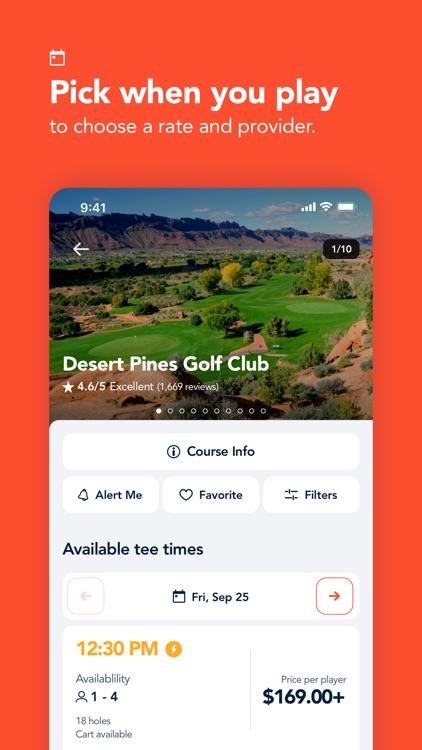 Supreme Golf: Book Tee Times screenshot-3