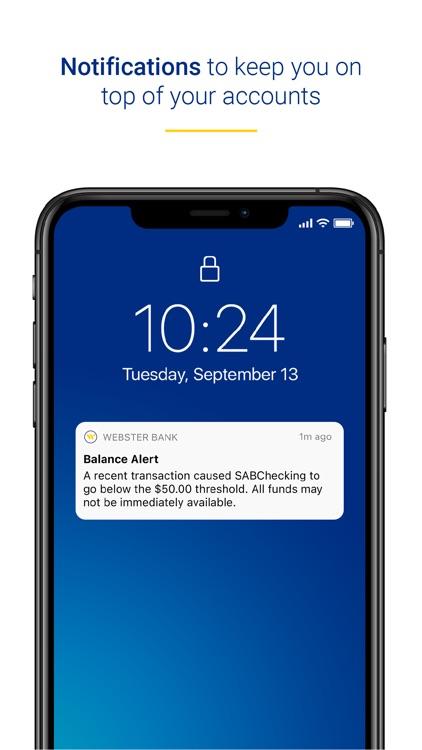 Webster Bank Mobile screenshot-3