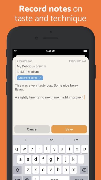 Brew Timer - Coffee Recipes screenshot-3