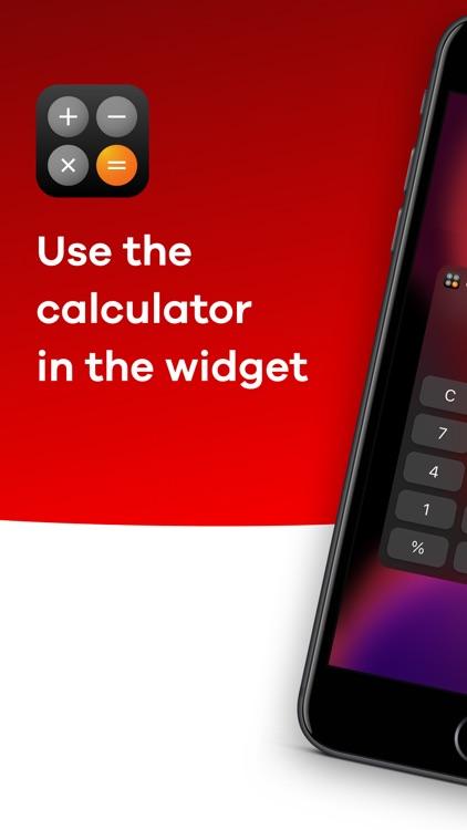 Calculator Widget - WCalc screenshot-0