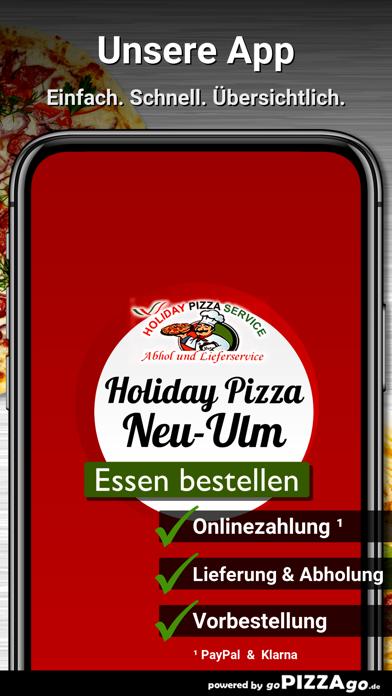 Holiday Pizza Neu-Ulm Pfuhl screenshot 1
