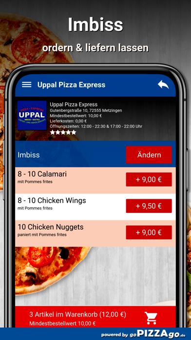 Uppal Pizza Express Metzingen screenshot 6
