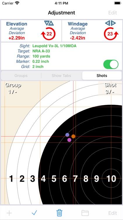 Shootility SightSet screenshot-0