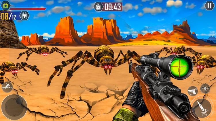Spider Assasin Sniper Shooting screenshot-4