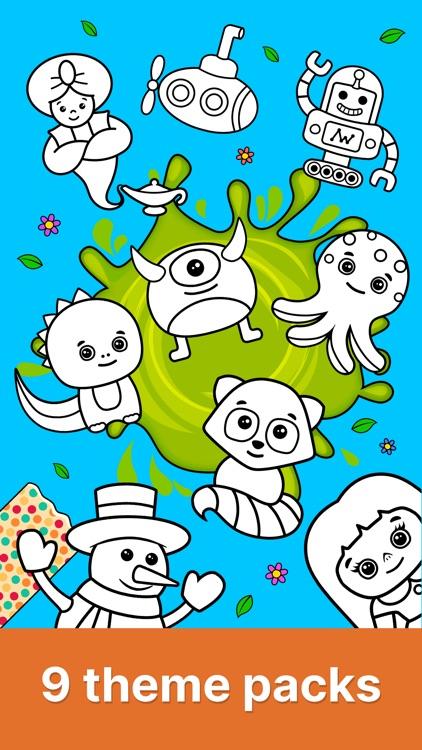 Baby coloring book for kids 2+ screenshot-4