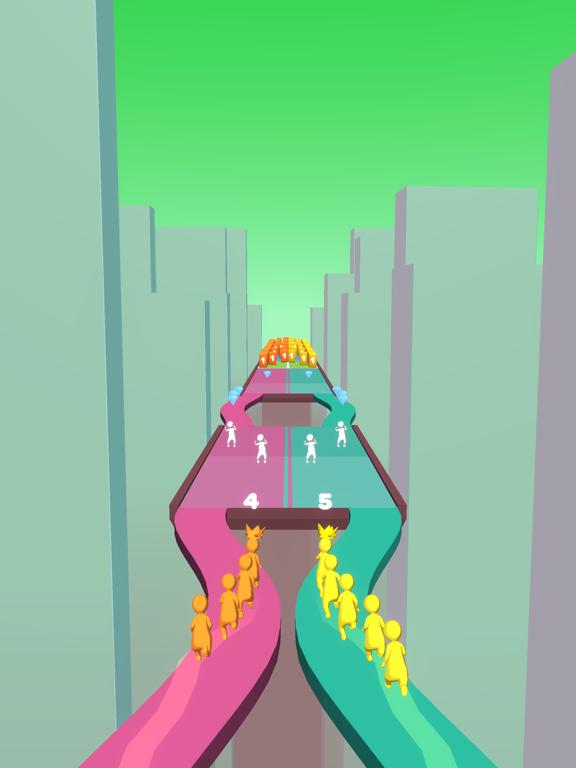 Crowd Snake Run screenshot 10