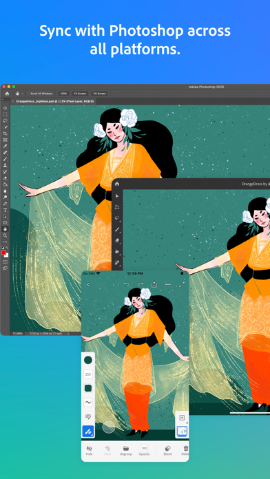 Adobe Fresco: Draw & Paint screenshot 9