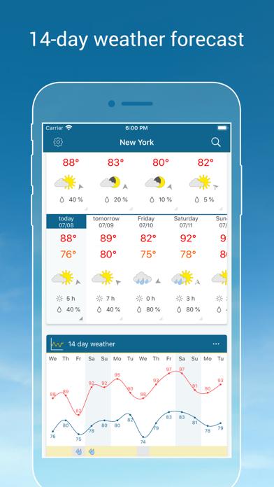 Weather & Radar - Storm alerts Screenshot