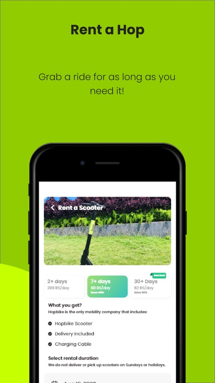 Hop Electric Scooter screenshot-3